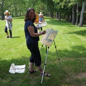 Art Workshop June 17 2017 Ann Willsie 7