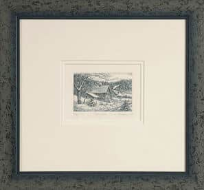 Framing Etchings and Sketches B