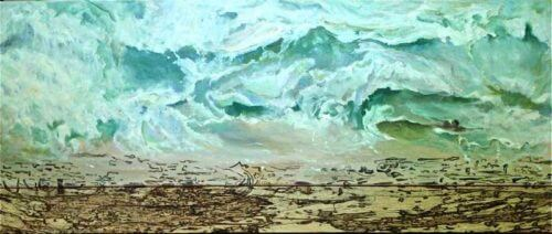 Jean Marshell A New Day 15x36