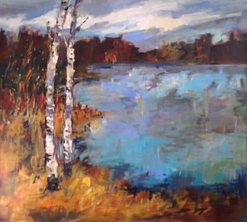 Joan Armour Lakeside 36x40