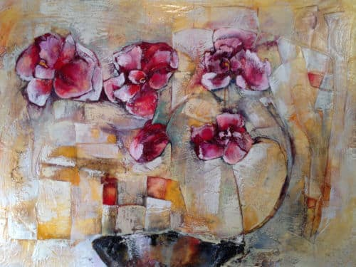 Peter Markov Orchids 36x48