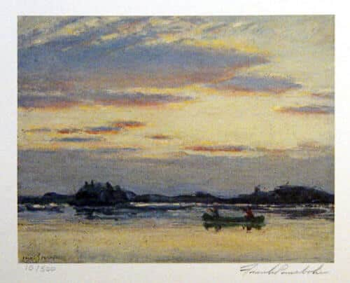 Frank Panabaker Night Clouds