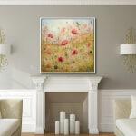 Tanya Kirouac Fireplace Poppy