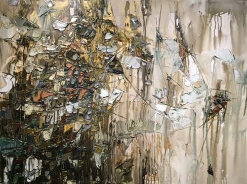 Maya Eventov Abstract III 36x48