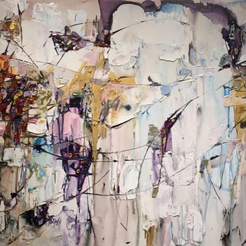 Maya Eventov Abstract 4 36x60