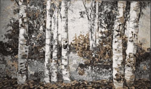 New Day Birch 36x60