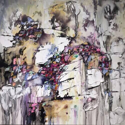Maya Eventov Abstract 1 40x40