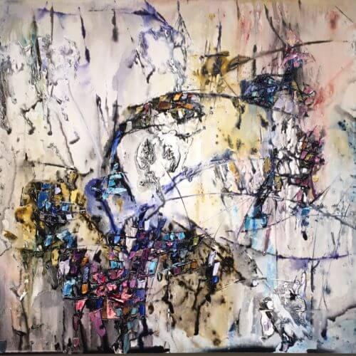 Maya Eventov Abstract 3 40x60