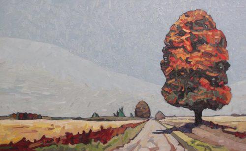 David Grieve Tree Path 2 36x60
