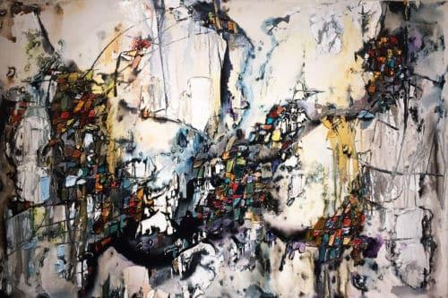 Maya Eventov Abstract 4 40x60