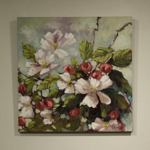 Ann Willsie Apple Blossoms 30X30 D1