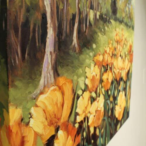 Ann Willsie Orange Tulips 24x30 D3