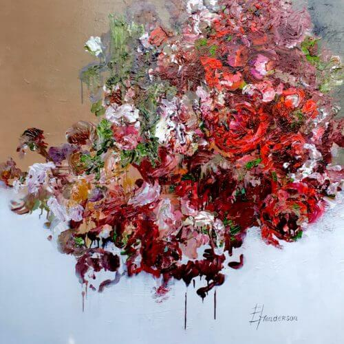 Elena Henderson Red Obsession Series 3 48x48