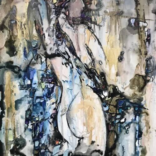 Maya Eventov Abstract Figure 2 30X40