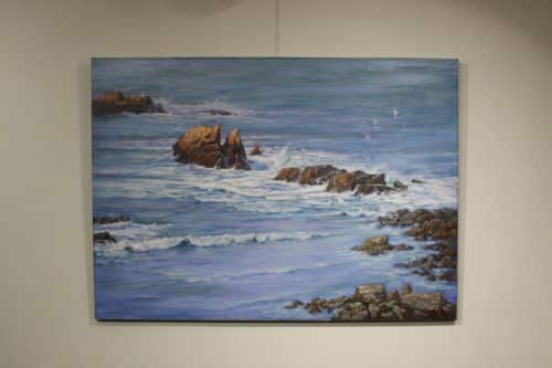 Robert Amirault Coastal Calm 36X50 Detail 1