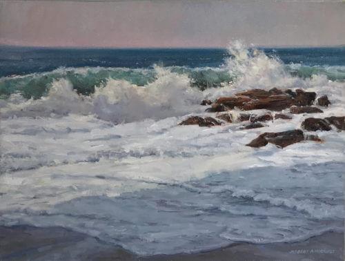 Robert Amirault Surf Shadows 18X24