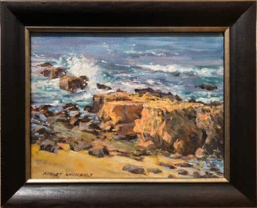 Robert Amirault On The Rocks 9x12