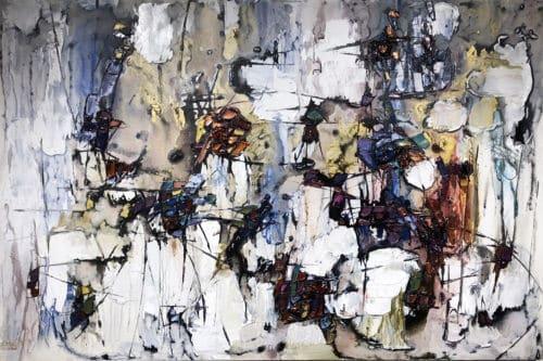Maya Eventov Abstract Sentiment 40x60