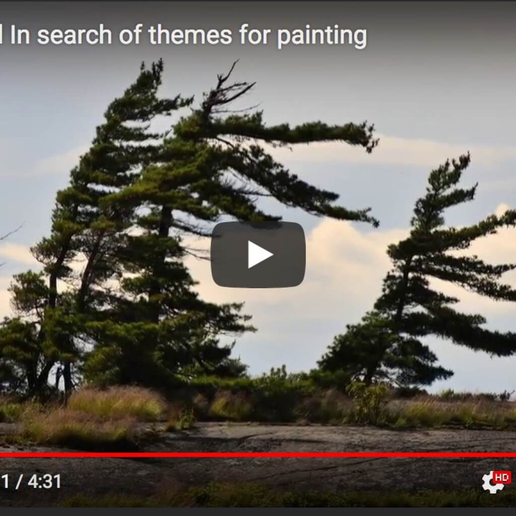 Jerzy Werbel In search of themes for painting