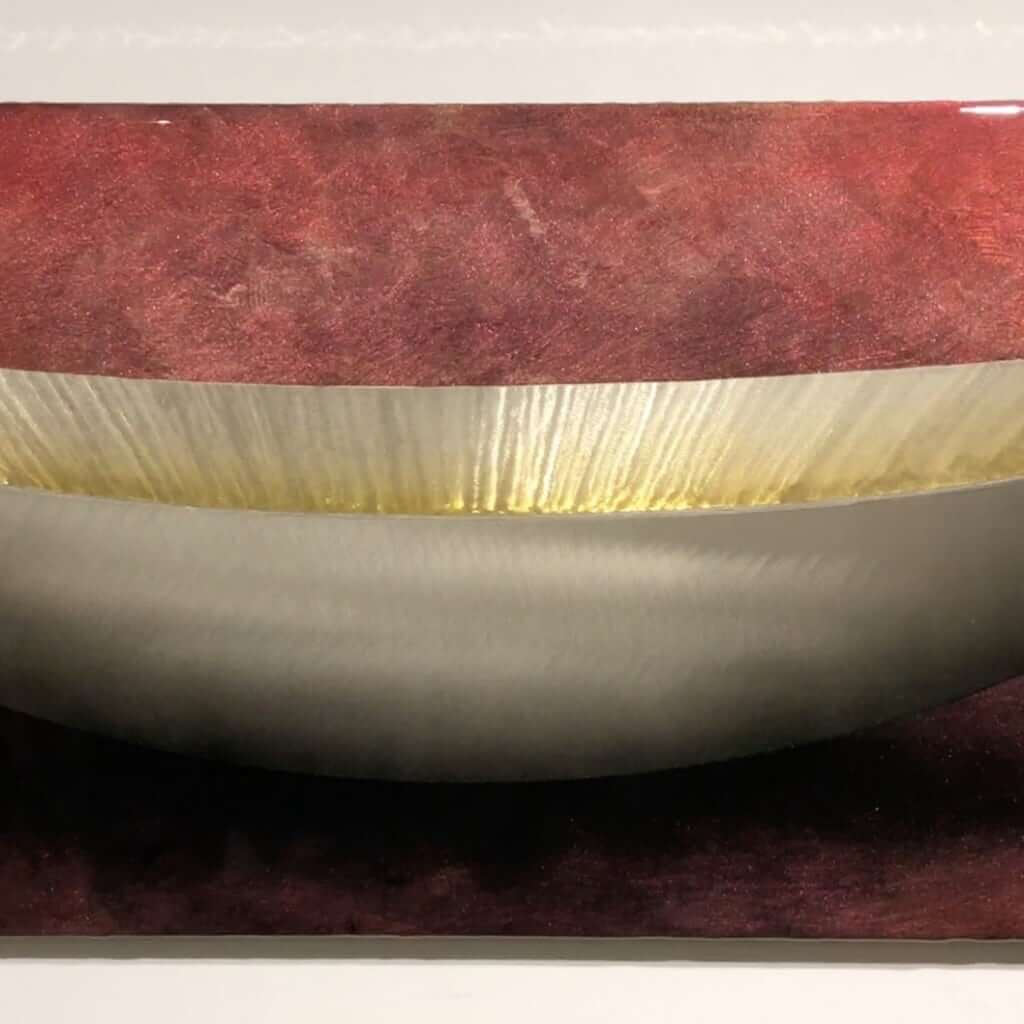 Red Wolf Red Rust Vessel 16x48