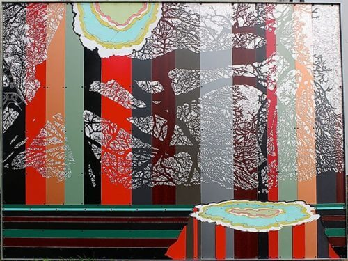 Dave Hind Stump Cut Oak 45x60