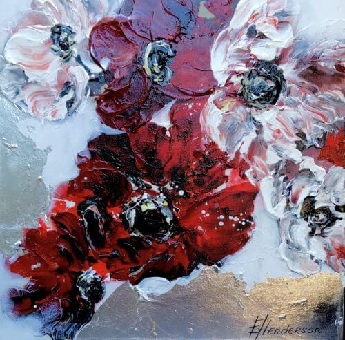 Elena Henderson Crimson Waltz series 1 18x18