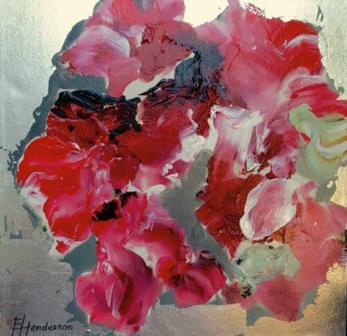 Elena Henderson Ruby Wine series 1 18x18