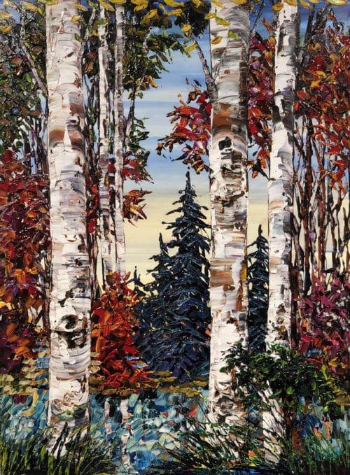 Maya Eventov Birch Lakeside 40x30