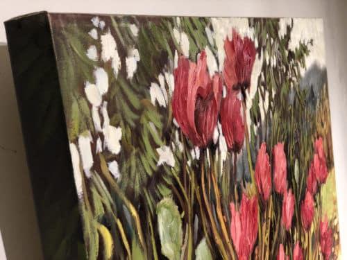Ann Willsie Wild Poppies 30x40 Detail 1