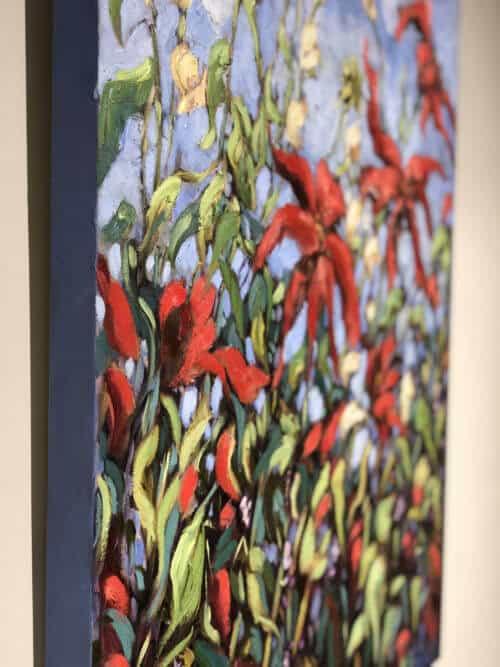 Ann Willsie Wildflowers I 30x40 Detail 1