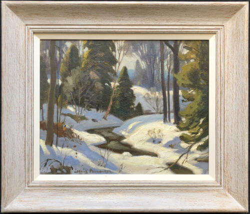 Frank Panabaker March Near Creemore 12x15 Framed