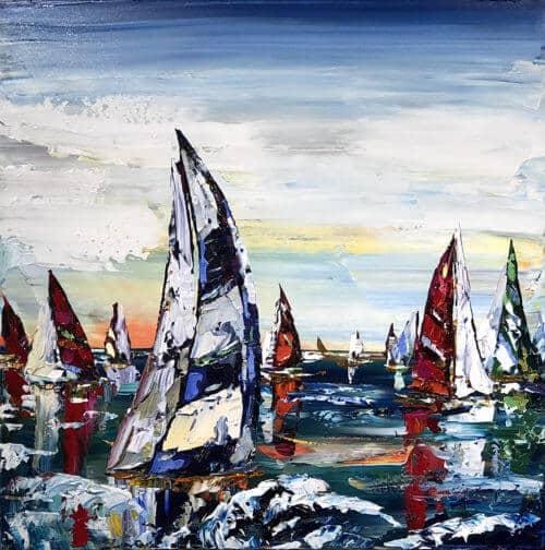 Maya Eventov Sailing Boats 36x36