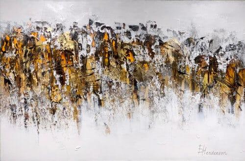 Elena Henderson Abstract Autumn Serenade 7 40x60