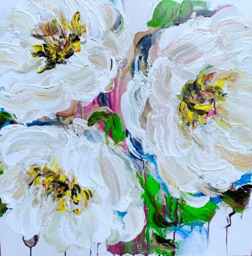 Elena Henderson Blooming Paradise series 13 30x30