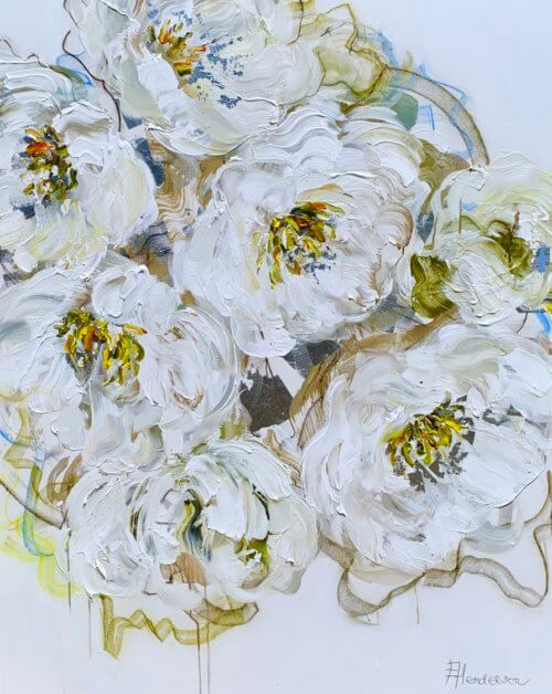 Elena Henderson Love in White series 60x48
