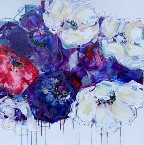 Elena Henderson Midnight Blues series 1 49 36x36