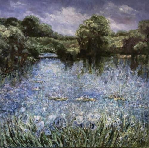 Fiona Hoop Persephones Dream 60x60