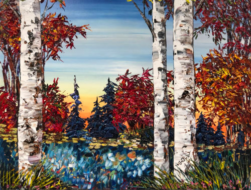 Maya Eventov Birch Lakeside 30x40