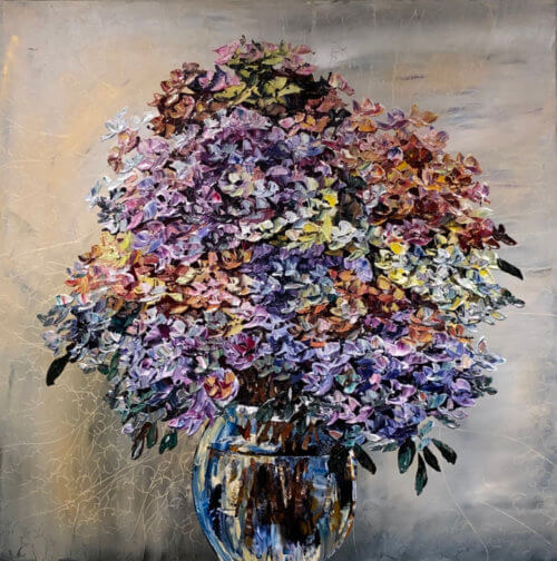 Maya Eventov Floral Hydrangea 40x40