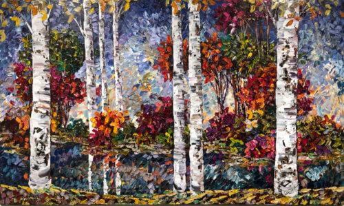 Maya Eventov Birch Lakeside 2 36×60