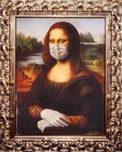 Mona Lisa During Social Distancing