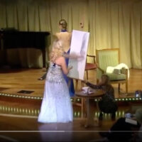Anna Razumovskaya Demonstration of Painting