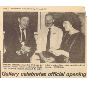 Gallery Celebrates Official Opening