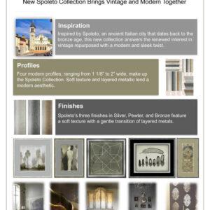 Spoleto Picture Frame Moulding